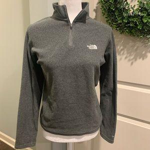 The North Face Women's Gray Half ZIP Pullover